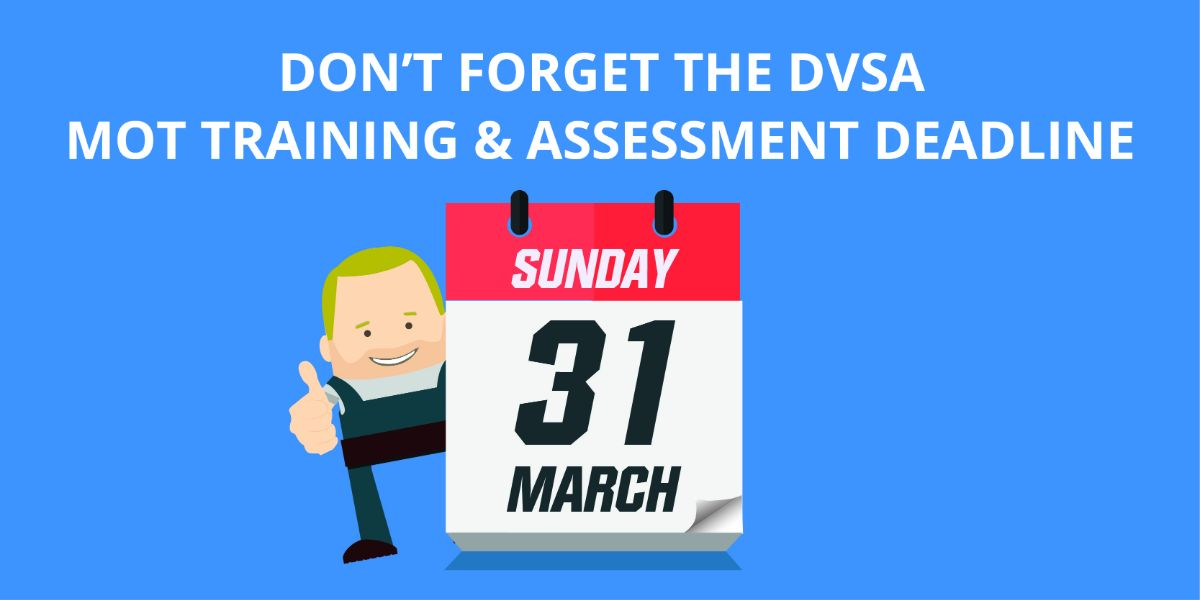There's only 2 weeks left in the DVSA Training and Exam year. Are you prepared?