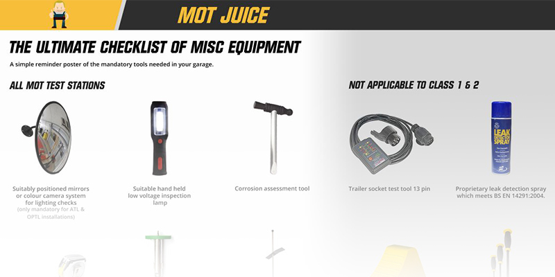 simple misc equipment reminder poster